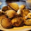 หอยแครงลวก 180บาท