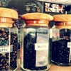 great coffee bean in little jar (*゚▽゚*)
