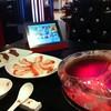 ชาบูหม้อชมพูและiPadเล่นเน็ทฟรีทุกโต๊ะ