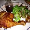 สเต็กไก่สมุนไพร รสชาติพอใช้ได้