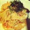 Mentaiko Spaketti เป็นเมนูไฮไลท์ค่ะ อร่อยสุดๆ ทานไปกรุบๆ ดีค่ะ มันจากไข่ปลา