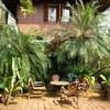 บรรยากาศบ้านสวน มีความร่มรื่น กลิ่นอายของชุมชนริมคลอง สงบเงียบ