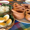 ขนมจีนชุดเล็ก 5 น้ำแกง ไข่สองฟอง