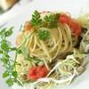 Cold Capellini with Blue Crab & Mentaiko