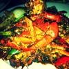 ปูไข่ผัดพริกไทยดำ !!