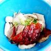 เกาเหลาเนื้อปลา+เป็ดย่างพริกสด
