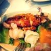 ปลาหมึกนึ่งมะนาว