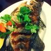 ปลากระพงทอดน้ำปลา !!