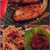 ปลาเนื้ออ่อนทอดกระเทียม ตำครางแครง ผัดหมี่บ้านนา