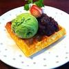 Waffle Green Tea Azuki