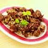 เนื้ื้้อเป็ดปักกิ่ง ทอดกระเทียมพริกไทย