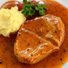 อกไก่ทอดซอสพริกไทยดำเจ