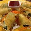 เปาะเปี๊อยผักโขมไส้ชีท ชีทยืดอร่อยมากกกก ฟินนนนอ่ะ แป้งบางกรอบอร่อย