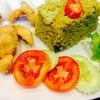 ข้าวผัดเขียวหวานไก่