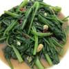 ปวยเล้ง (ผักโขมจีน) Chineses spinach ผัดน้ำมันหอย
