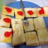 ขนมปังเนยนม+ แยม