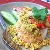 ข้าวกุ้งซอสมันปู
