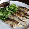 ปลาทูย่างน้ำปลาหวาน