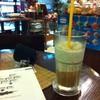 กาแฟปั่นครับ มานั่งอ่านหนังสือสบาย