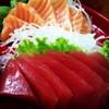 กินเท่าไหร่ก็ไม่เบื่อ ปลาโอ+แซลมอน จิ้มโชยุใส่วาซาบิสด เลิศ!