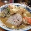 ราเมงปูทาราบะ , หอยเชลล์, หอยคล้ายหอยตลับ +หมู1,800 เยน