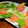 แซลมอนแช่น้ำปลา  ( 180 บาท )