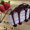 เครปเค้กช็อคโกแลต มีแล้วที่#บ้านเบเกอรี่ น้องใหม่ล่าสุดค่า 😊