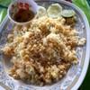 ข้าวผัดปูจานใหญ่ (150 บาท)