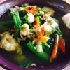 แกงผักกาดใส่ปลากด (ปลาน้ำงาว)