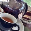 Finest Ceylon Tea ร้อน กับเค้ก Choco Banana