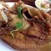ปลากระพงทอดน้ำปลา ฟินเวอร์