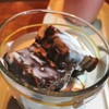 Warm Rum Chocolate Brownie & Cream Shot บราวนี่นุ่มมาก ครีมก็เค็มๆ มันๆ