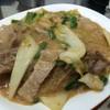 สุกี้แห้งหมู+เนื้อ จานใหญ่มากกกก อร่อยด้วย :)