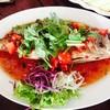 ปลาสำลีราดพริก