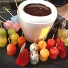 Chocolate Fondue with Tearapy