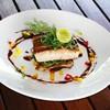Tuna from Japan -เนื้อปลาทูน่าสดgrill คู่กับซอสเทอริยากิ+Seaweed Salad