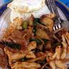 ผัดพริกแกงทะเล+ปลา
