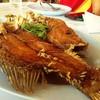 ปลากระพงทอดน้ำปลา อร่อยมากกกก เค็มหวานกำลังดี ไม่อมน้ำมัน เนื้อปลาเเสนสด