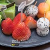 Exotic Fruit Skewers, Strawberries