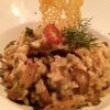 creamy mushroom risotto (380 thb)