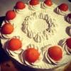 Melon Fresh Cream Cake