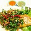 ปลาทอดสมุนไพร อร่อยเฟ่อร์