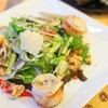 Goat Cheese Salad with Lardons and Walnut