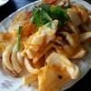 หมึกผัดไข่เค็ม (150 บาท)