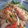 ข้าวผัดทะเล อิ่ม อร่อยจานยักษ์