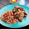 ซี่โครงหมูพริกไทยอ่อน กับข้าวออร์แกนิค เรียกน้ำย่อยด้วยกลิ่นสมุนไพร