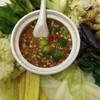 น้ำพริกกะปิผักต้ม
