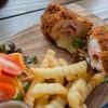 Chicken Cardonbleu (250 Bath)