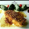 Pan seared red snapper with butter sauce