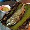 ปลาสำลีเผา 160 บาท